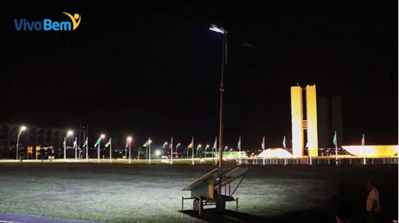 Gerador móvel de energia fotovoltaica