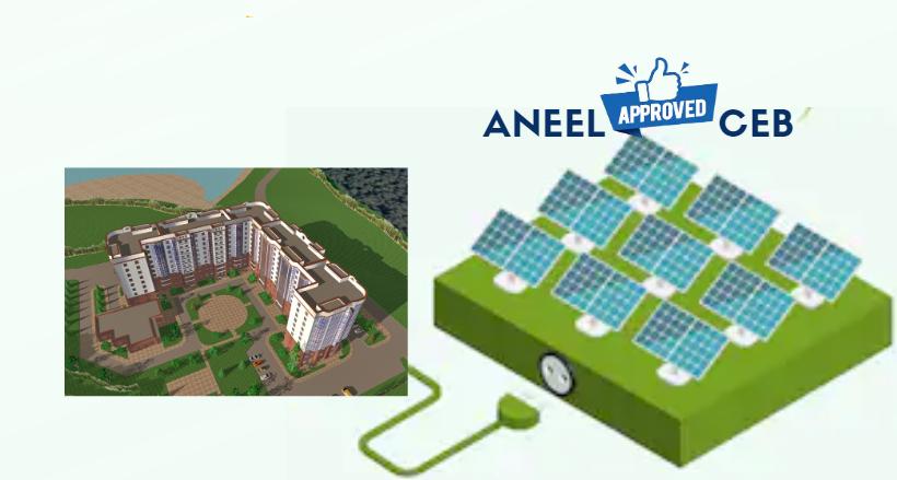 Produza sua energia solar remotamente – Somente para o Distrito Federal